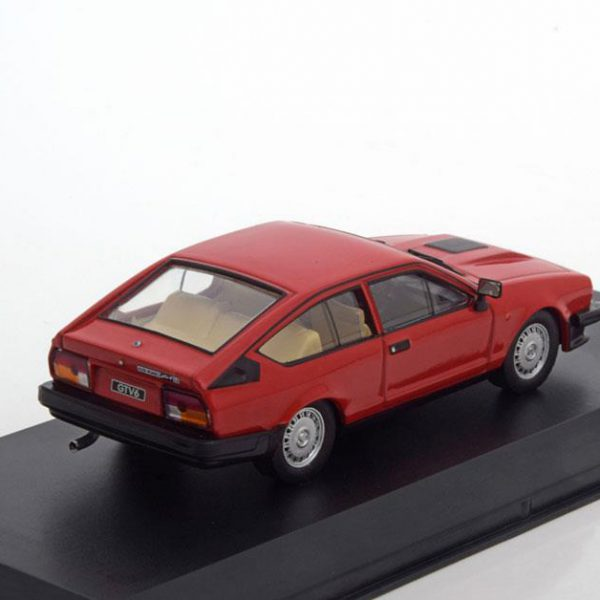 Alfa Romeo GTV 6 2.5 1980 Rood 1-43 Whitebox Limited 1000 Pieces