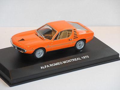 Alfa Romeo Montreal 1970 Oranje 1:43 Edison Giocattoli
