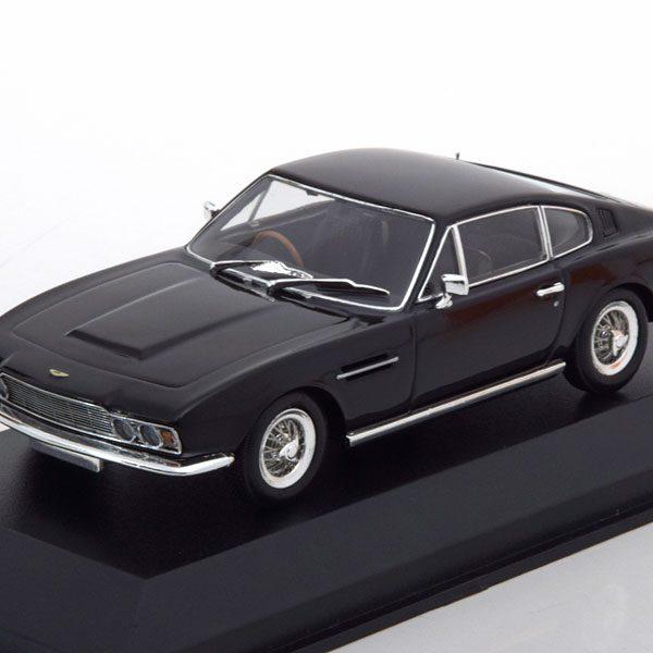 Aston Martin DBS 1967 Zwart 1-43 Maxichamps