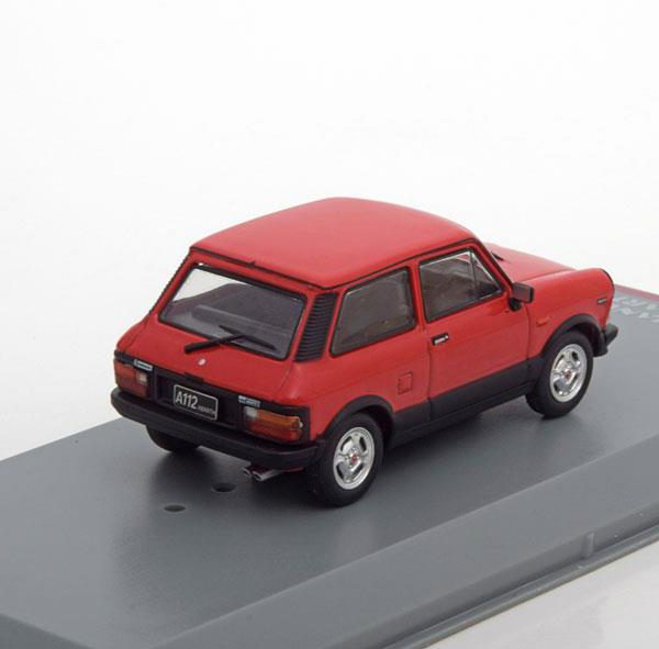 Autobianchi A112 Abarth 1979 Rood 1-43 Whitebox Limited 1000 Pieces