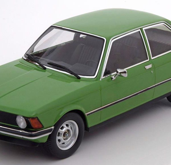 BMW 318i E21 1975 Groen 1-18 KK Scale Limitd 1000 Pieces