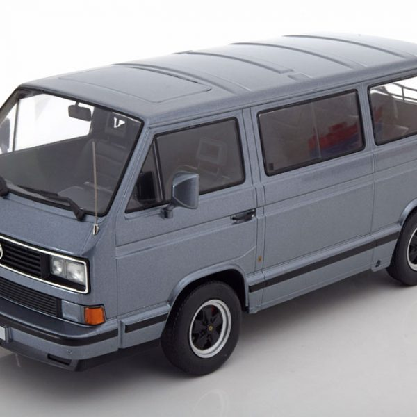 Volkswagen T3 Bus B32 Porsche 1984 Grijs Metallic 1-18 KK Scale Limited 1000 Pieces