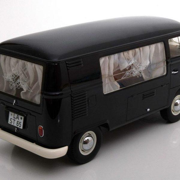 Volkswagen T1 Bus Bestattungswagen Zwart 1:18 Premium Classixxs Limited 500 pcs.