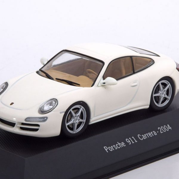 Porsche 911 (997) Carrera Coupe 2004 Beige 1-43 Atlas Porsche Collection