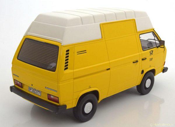Volkswagen T3 Bus Hochdach Deutsche Bundespost 1979 Geel 1:18 Premmium Classixxs Limited 500 pcs.