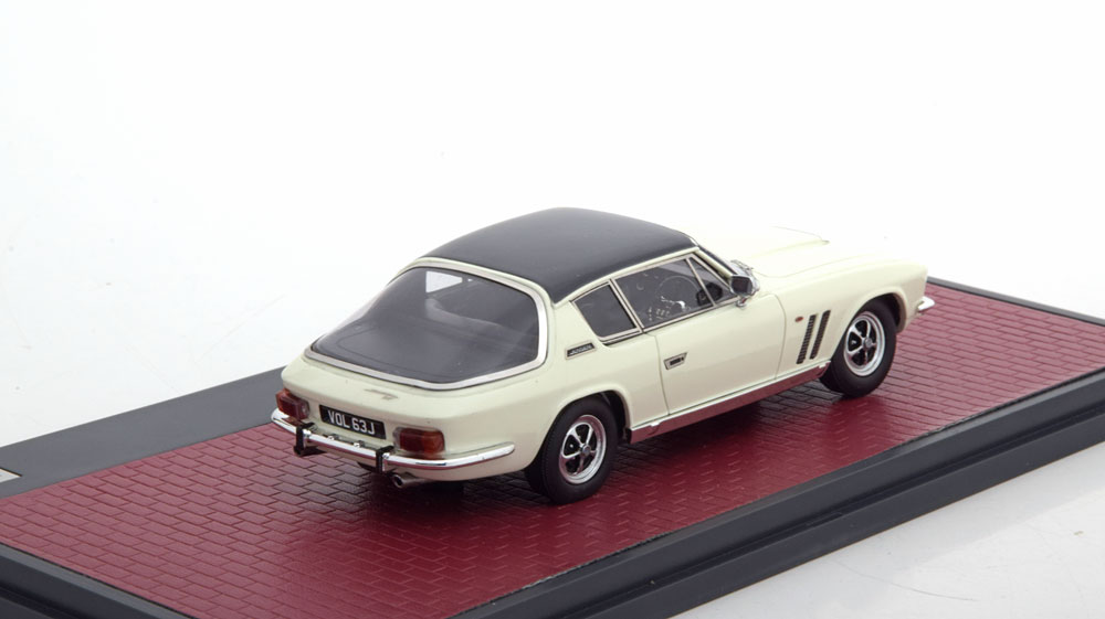 Jensen Interceptor FF Series II Wit 1-43 Matrix Scale Models