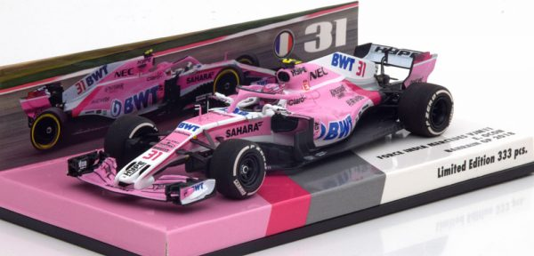 Force India VJM11 GP Bahrain 2018 Ocon 1-43 Minichamps Limited 333 Pieces