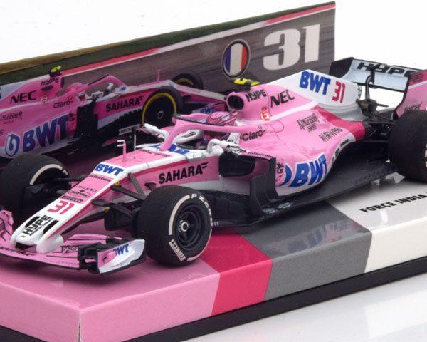 Force India VJM11 GP Bahrain 2018 Ocon 1-43 Minichamps Limited 333 Pieces