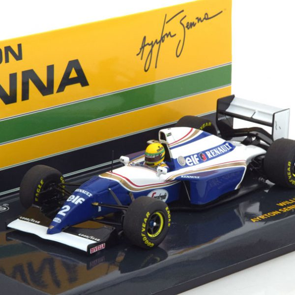 Renault FW 16 GP Brazilian 1994 A.Senna 1-43 Minichamps ( resin )