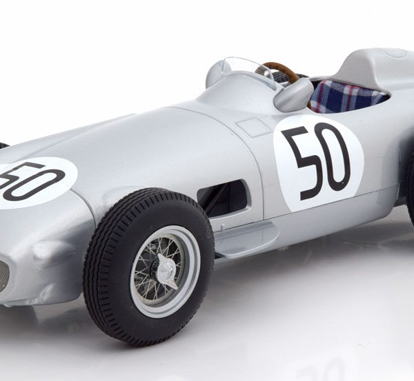 "Mercedes-Benz W196 Nr# 50 GP England 1955 ""Taruffi""1-18 Iscale Limited 150 Pieces"