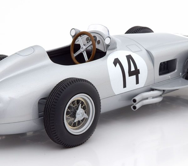 "Mercedes-Benz W196 Nr#14 GP England 1955 ""Kling"" 1-18 Iscale Limited 222 Pieces"