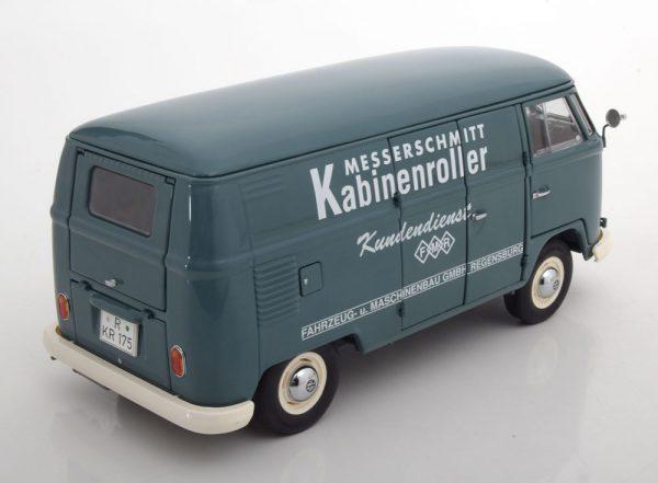 "Volkswagen T1 Transporter ""Messerschmitt""1-18 Grijsblauw Schuco Limited Edition 750 pcs."