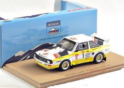 Audi Sport Quattro Winner Pikes Peak 1985 Michele Mouton 1-43 Spark