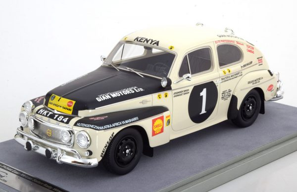 Volvo PV544 No.1, Sieger Rally East Africa 1965 Singh/Singh 1-18 Tecnomodel Limited Edition 110 pcs.
