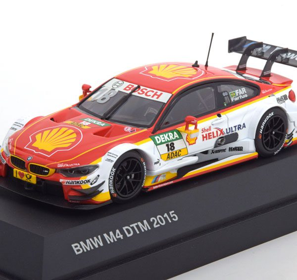 BMW M4 No.18, DTM 2015 Farfus 1-43 Minichamps