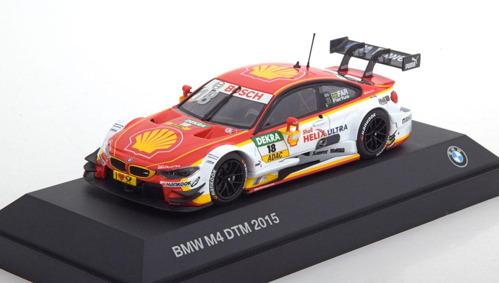 BMW M4 No.18, DTM 2015 Farfus 1-43 Minichamps