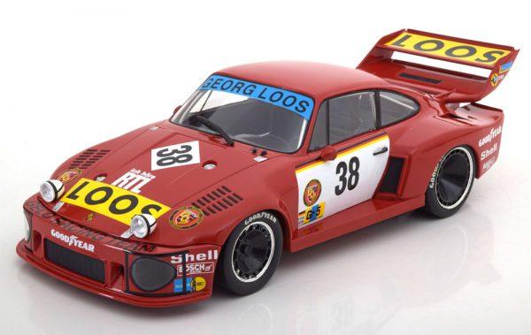 Porsche 935 No.38, 24h Le Mans 1977 Schenken/Hezemans/Heyer 1-18 Norev Limited 1000 Pieces