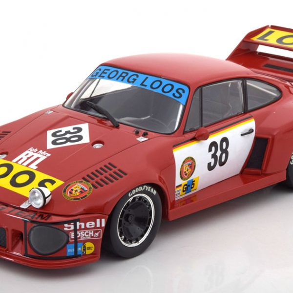 Porsche 935 No.38, 24h Le Mans 1977 Schenken/Hezemans/Heyer 1-18 Norev Limited 1000 Pieces