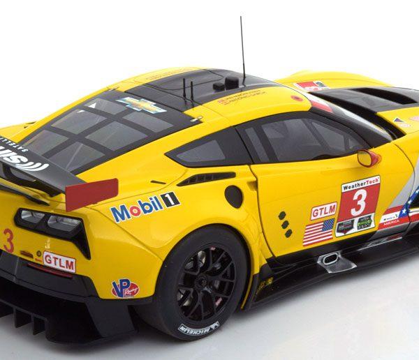 Chevrolet Corvette C7.R No.4, Lime Rock IMSA 2016 Garcia/Magnussen 1-18 Autoart