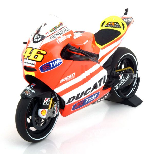Ducati Desmosedici GP11.1 No.46, Moto GP 2011 Rossi 1-12 Minichamps