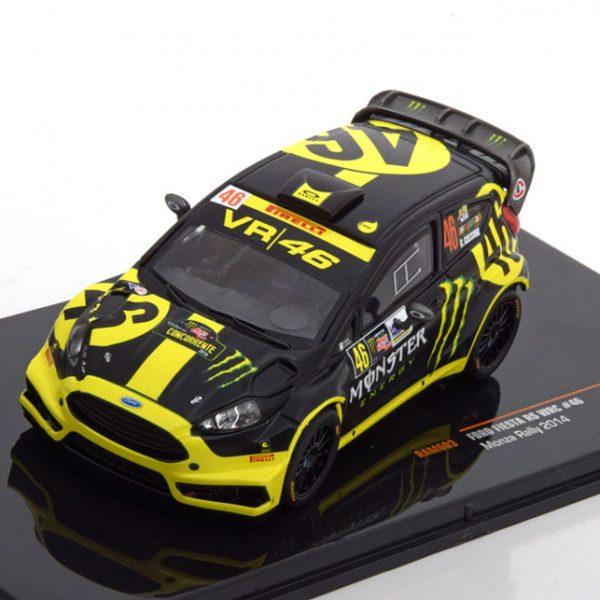 Ford Fiesta RS WRC No.46, Rally Monza 2014 Rossi/Cassina 1-43 Ixo Models
