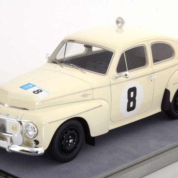 Volvo PV544 No.8, Sieger RAC Rally 1964 Trana/Thermaenius 1-18 Tecnomodel Limited Edition 70 pcs.