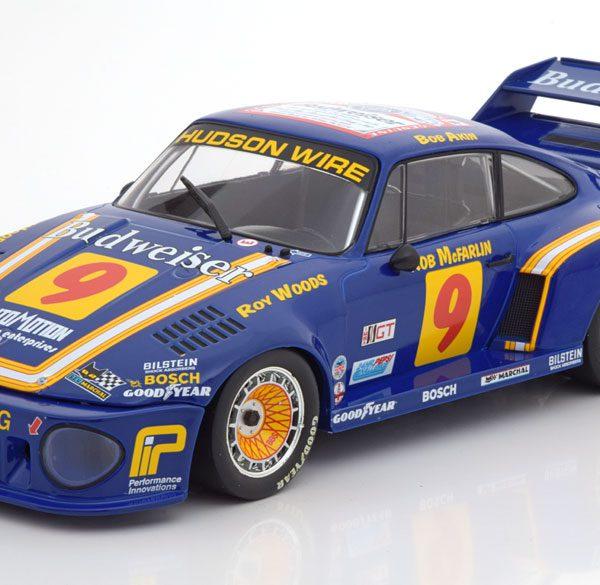 Porsche 935 No.9, 24h Daytona 1979 Woods/Akin/McFarlin 1-18 Norev Limited 1000 Pieces