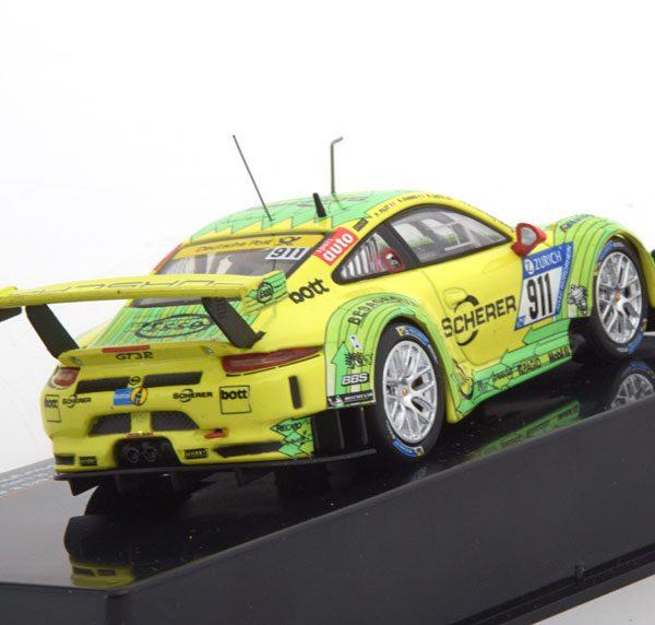 Porsche 911 (991 II) GT3 R No.911, 24h Nürburgring 2017 Dumas/Lietz/Pilet 1-43 Ixo Models