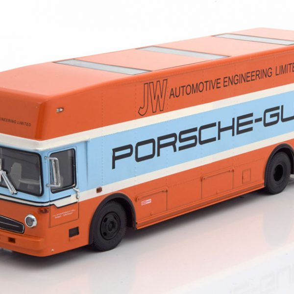 "Mercedes-Benz O317 ""Porsche Renntransporter""1968 Gulf 1-43 Schuco Limited 600 Pieces"