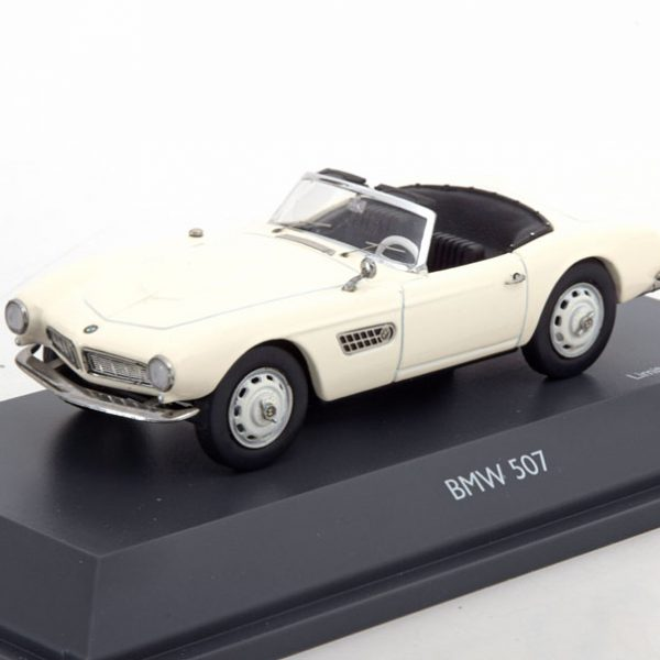 BMW 507 Roadster 1956-1959 Wit 1-43 Schuco Limited Edition 500 pcs.