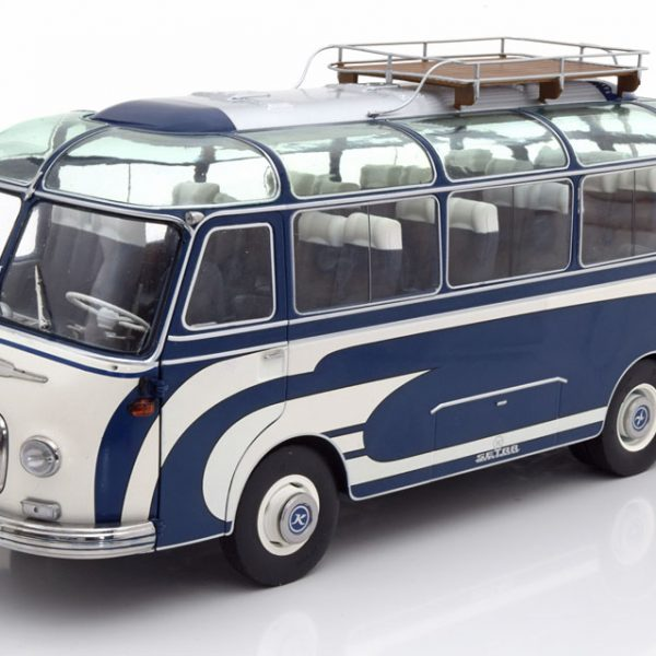 Setra S6 1956 Blauw / Beige 1-18 Schuco Limited Edition 750 pcs.