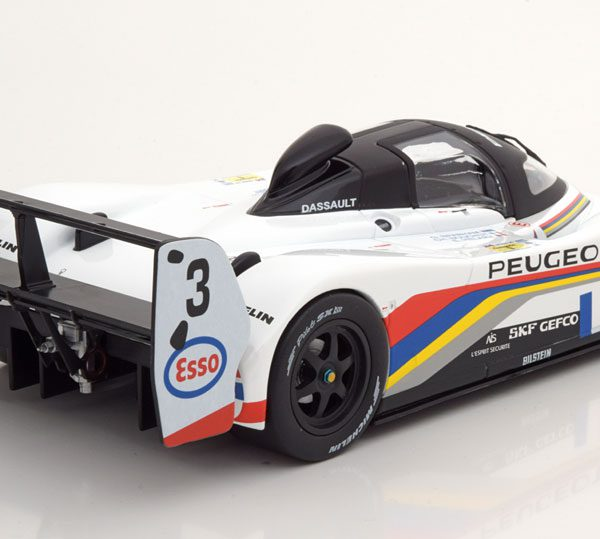 Peugeot 905 Winner France 24H 1993 No.3 Drivers: Bouchut/Hélary/Brabham 1:18 Norev