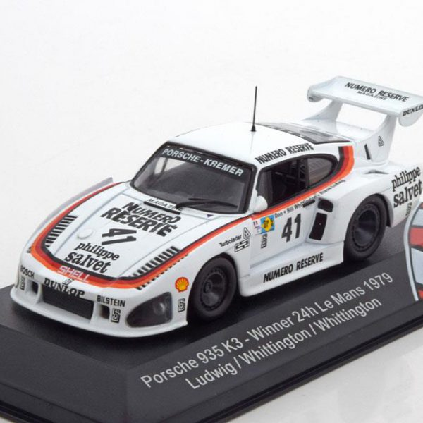 Porsche 935 K3 Sieger 24h Le Mans 1979 Ludwig/B.Whittington/D.Whittington 1-43 CMR Models