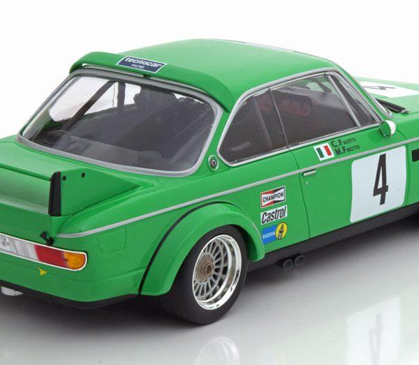 BMW 3.0 CSL Sieger ETCC Zandvoort 1979 Finotto/Facetti 1-18 Minichamps Limited 360 Pieces