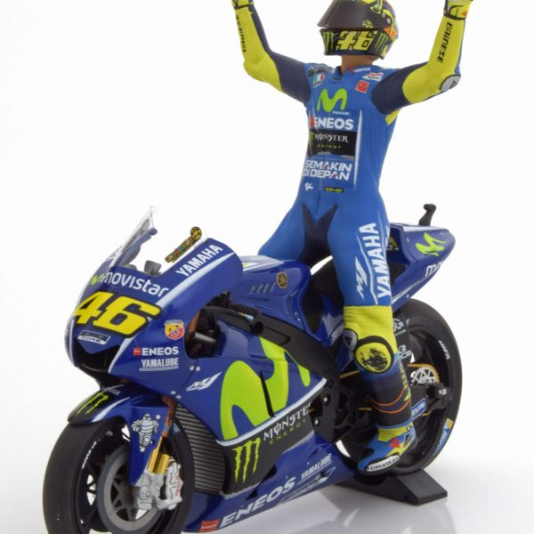 "Yamaha YZR-M1 Winner GP Assen 2017 ""Monster"" Valentino Rossi 1-12 Minichamps Limited 1500 Pieces"