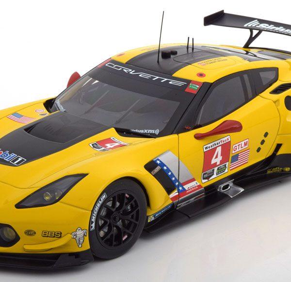 Chevrolet Corvette C7.R Sieger Lime Rock IMSA 2016 Gavin/Milner 1-18 Autoart