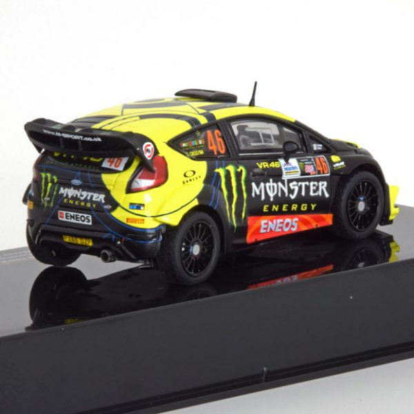 Ford Fiesta RS WRC Sieger Rally Monza 2017 Rossi/Cassina 1-43 Ixo Models