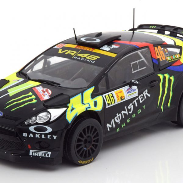 Ford Fiesta RS WRC Sieger Rally Monza 2012 Rossi/Cassina 1-18 Ixo Models