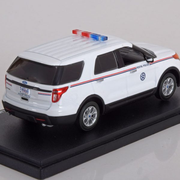 Ford Interceptor Utility USPS Postal Police 2014 1-43 Greenlight Collectibles