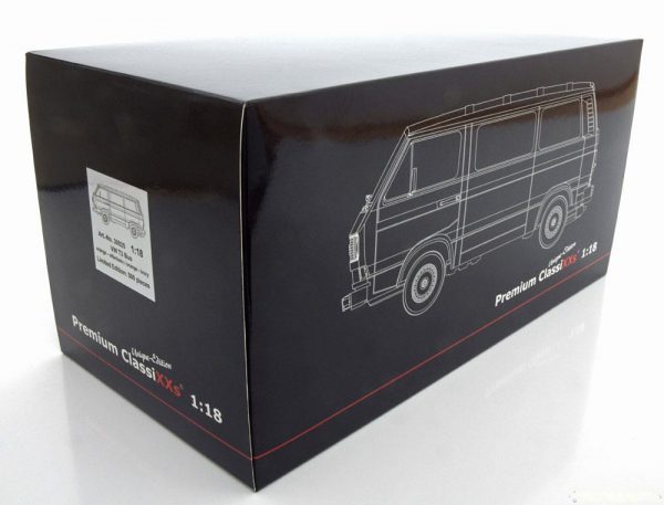 Volkswagen T3 Bus Orange/Creme 1:18 Premium Classixxs Limited 500 pcs.