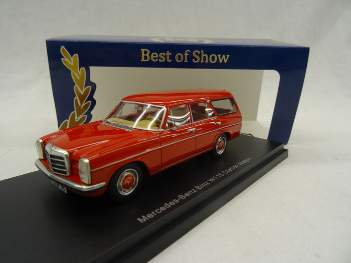 Mercedes-Benz Binz ( W115 ) Station Wagen Rood 1-43 BOS Models