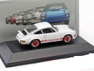 Porsche 911 Carrera RS 1973 Wit 1:43 Atlas Porsche Collection