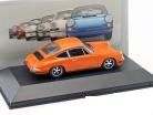 Porsche 911 S 2.4 1972 Oranje 1:43 Atlas Porsche Collection