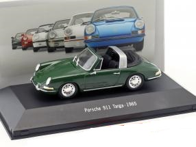 Porsche 911 Targa 1965 Groen 1:43 Atlas Porsche Collection