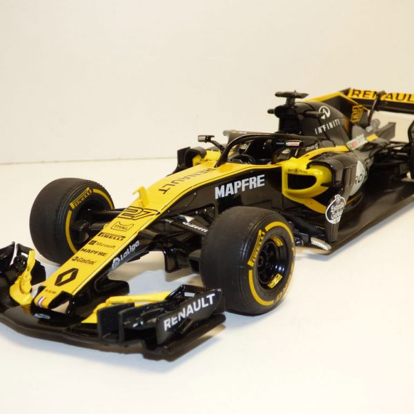 Renault RS18 F1 2018 Launch Car 1/18 Solido