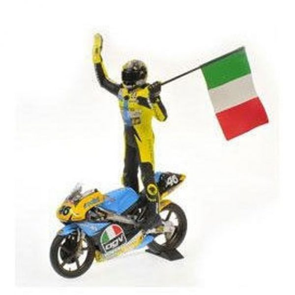 Figuur Valentino Rossi GP 125 1996 1-12 Minichamps Limited 2000 Pieces