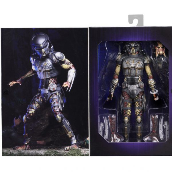 The Predator - Fugitive Predator Ultimate Action Figure 2018 - 7 inch - Neca