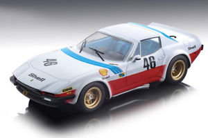 Ferrari 365 GTB/4 Michelotti 1975 Team Nart Le Mans 24h Car #46 JP.Malcher-P.Langlois-C.Facetti 1:18 Tecnomodel Limited 150 pcs.