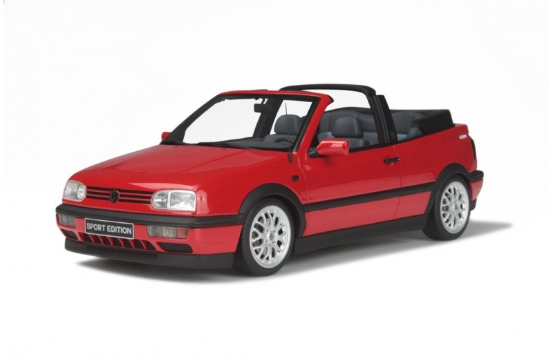Volkswagen Golf III Cabriolet Sport Edition 1996 Rood 1-18 Ottomobile Limited 2000 Pieces