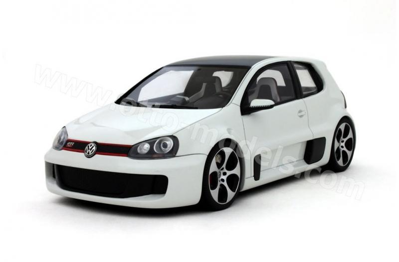 Volkswagen Golf MK V GTI W12 650 Wit 1-18 Ottomobile Limited 3000 Pieces